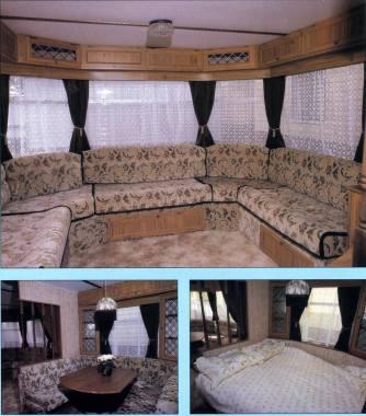 Carnaby Ranchero static caravan