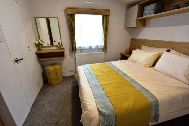 Atlas Mirage Static Caravan Double bed wide