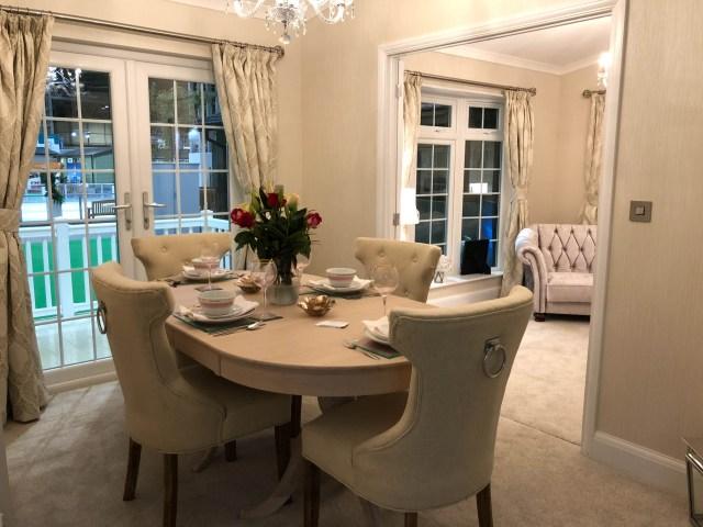 2019 Omar Heritage Park Home dining room