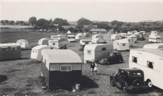 1940s caravan park