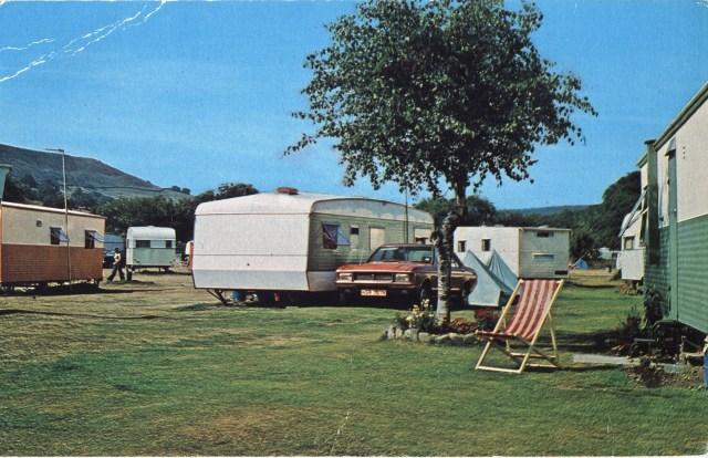 1990s caravan park