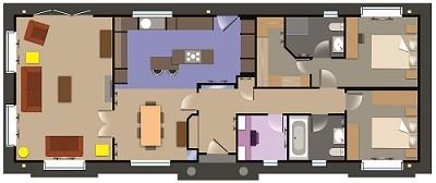 Prestige Homeseeker Grand Symphony floorplan