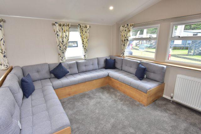2020 Willerby Kelston static caravan u-shaped lounge