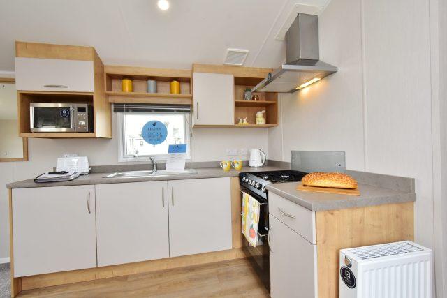 2020 Willerby Kelston static caravan kitchen