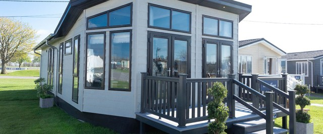 2020 Prestige Glass House holiday lodge
