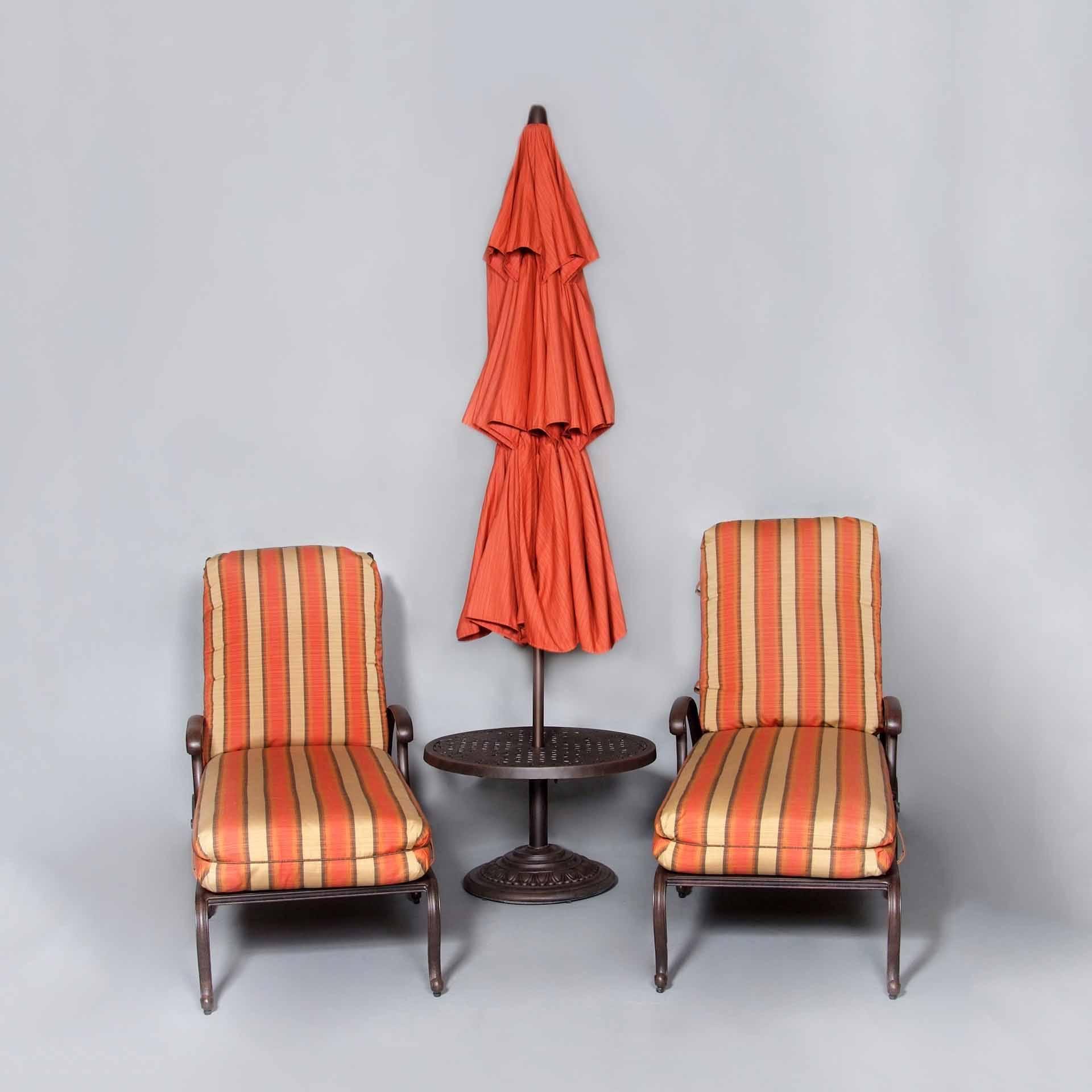 cast classics brenna chaise lounge pair