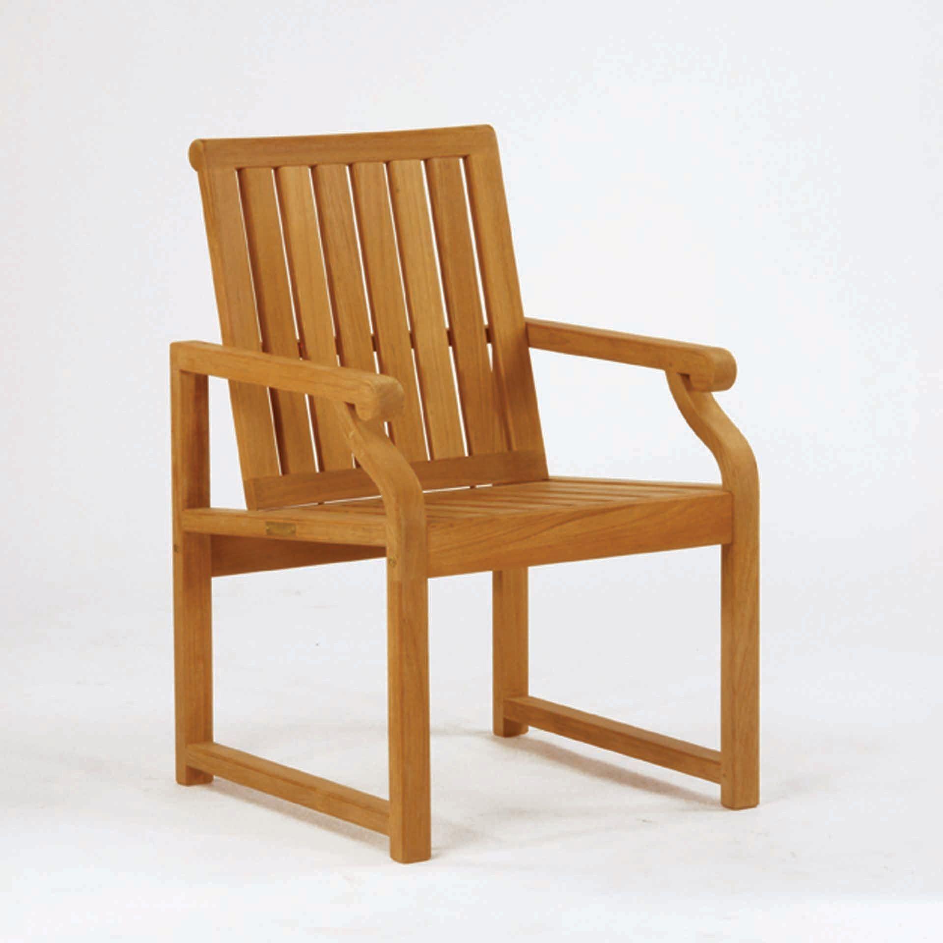 Kingsley Bate Nantucket Dining Arm Chair Leisure Living