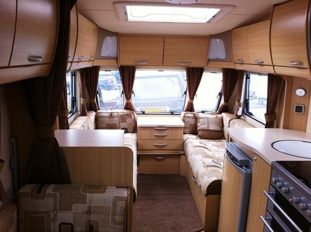 Abbey Vogue 540 2009 6 Berth Touring Caravan For Sale From Caravans 4 Wales In Nr Pembroke SA72 XXX