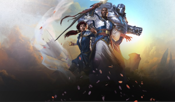 Image of 3 Planeswalkers used for the Dominaria Open House at Leisure Time Games