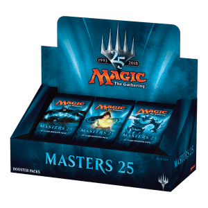 Masters 25 Booster Box Display