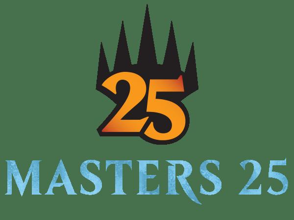 Masters 25 logo and mythic rare set symbol