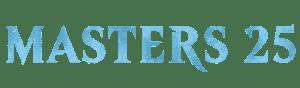 Masters 25 logo