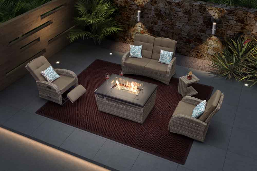 patio fire pit outdoor propane