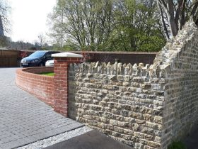 About Leith Contruction Builder Dorking Horsham brickwork stonework flintwork landscapes landscaping