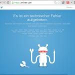 Freitag Abend, Twitter geht nicht: Ich fasse nach Entzugserscheinungen einen Entschluss