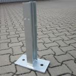 IPE Stahlpfosten verzinkt
