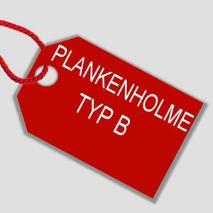 Plankenholme mit B-Profil