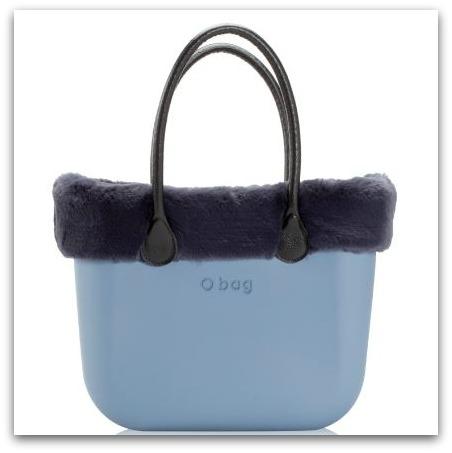 Bordi Invernali O Bag In Eco Pelliccia Lapin