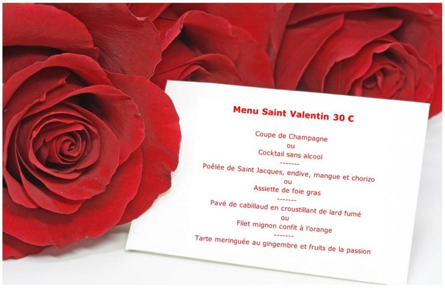 Pour la Saint Valentin, offrez-vous un repas en Amoureux