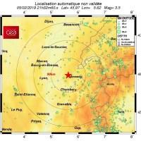 Un nouveau séisme secoue l'Ain.