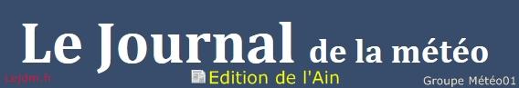 Journal de la Météo de l'Ain et sa région – Quotidien d'infos