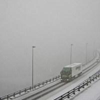 L'A40 attend la neige ce mercredi matin !