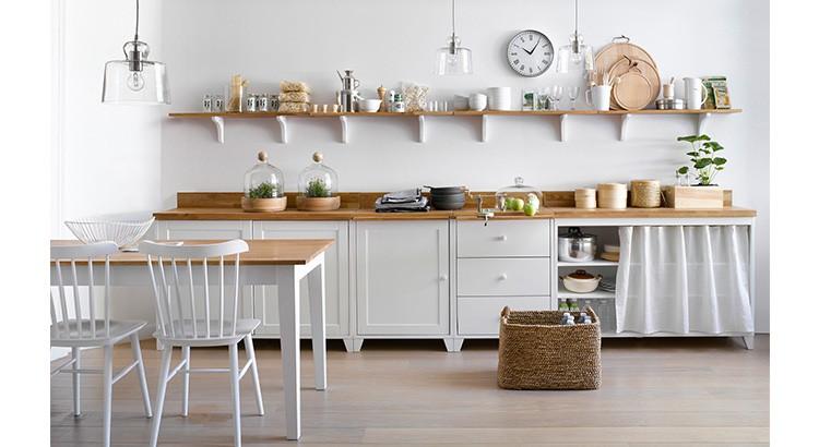 cuisine en bois clair un choix
