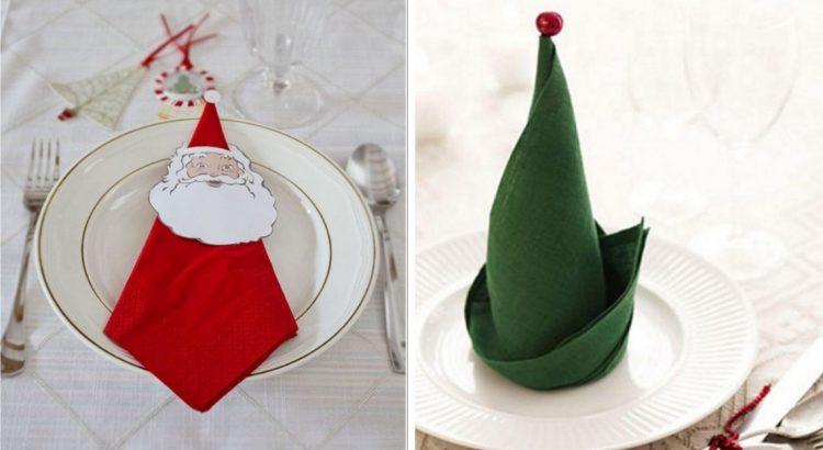 Diy Noel 15 Pliages De Serviettes Pour En Mettre Plein La Vue