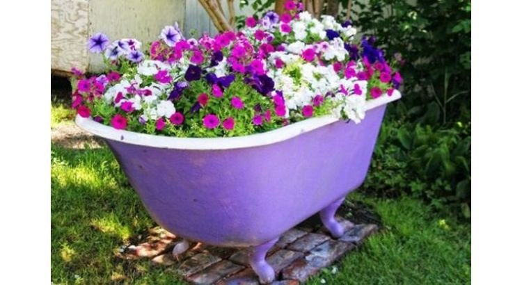 15 idees recup insolites pour le jardin