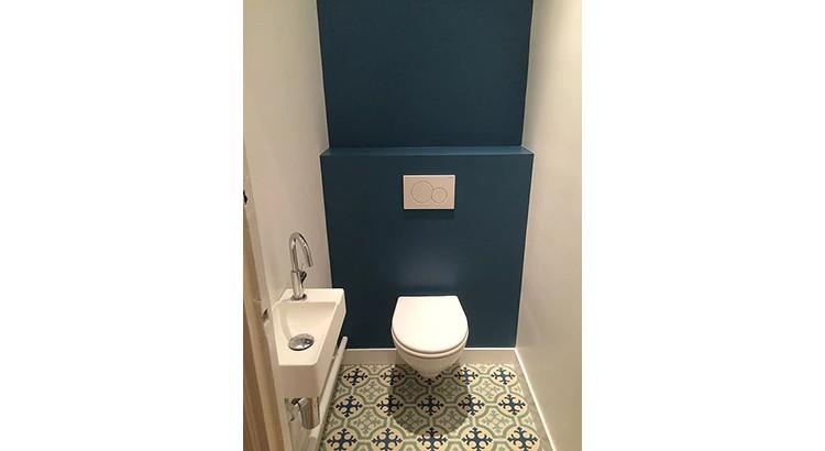 Relooking Toilettes 25 Facons D Adopter Le Bleu