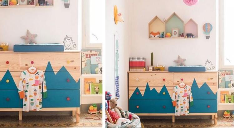 ikea hack pour la chambre des enfants