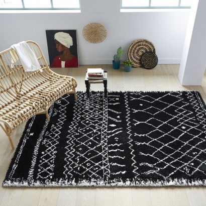 salon cocooning 15 tapis pour une