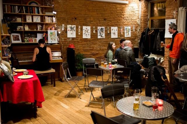 cafés associatifs La Candela toulouse