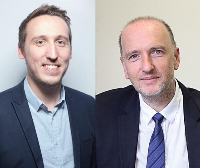 Victor Denouvion et Thierry Fourcassier