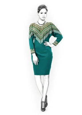 Lekala 4331 dress