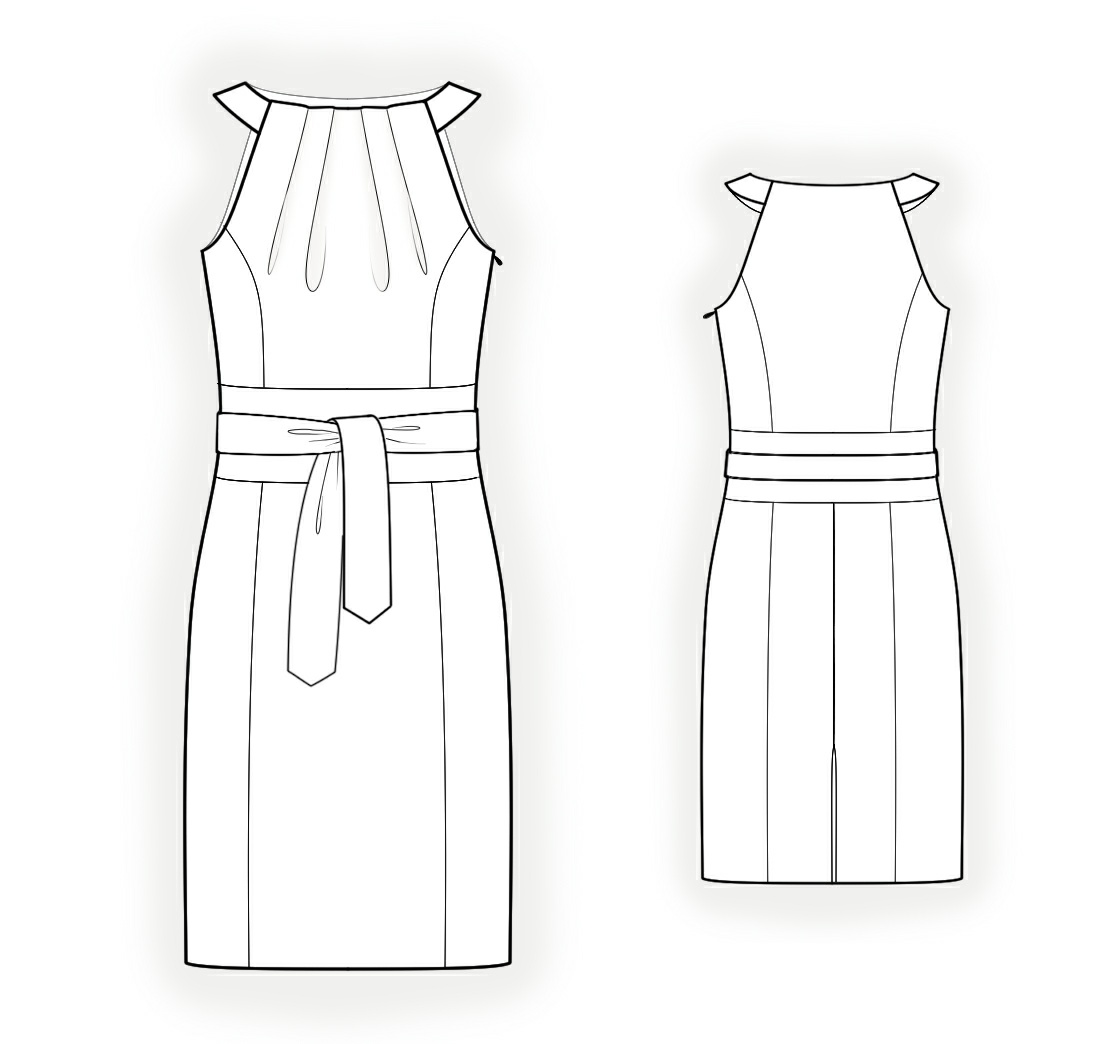 Dress With Halter Neck
