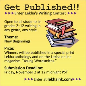 Get Published With Lekha's Writing Contest