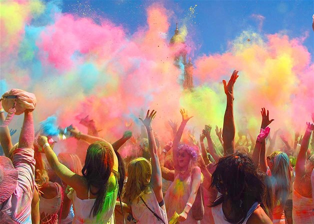 Holi in capetown