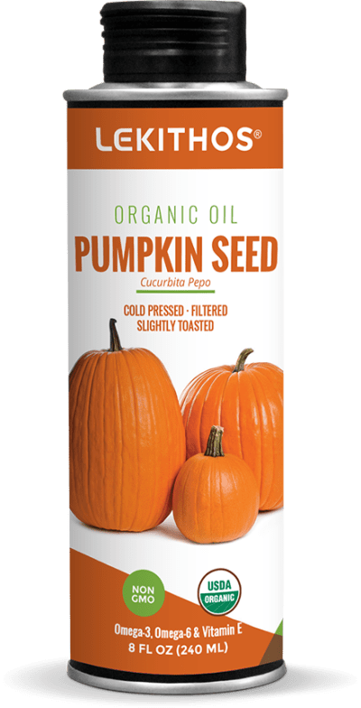 8oz Organic Pumpkin Seed Oil by Lekithos