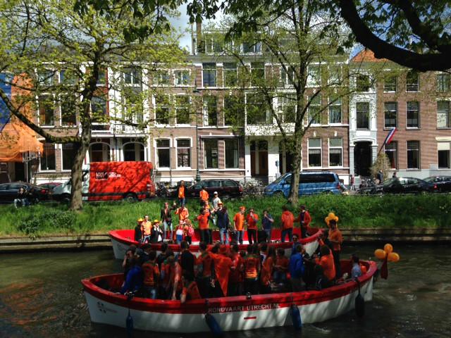 Fiestas del Rey en Utrecht