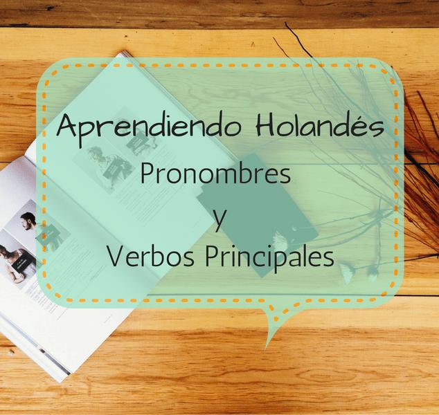 Aprender Holandes Pronombres y Verbos Principales