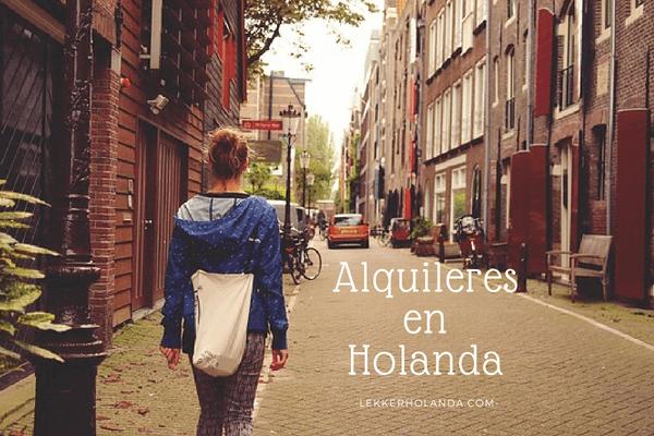 Alquilar piso en Holanda