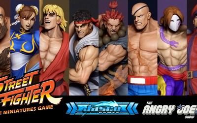 Kickstarter: Street Fighter The Miniatures Game