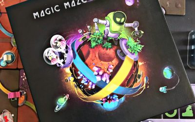 Test: Magic Maze on Mars