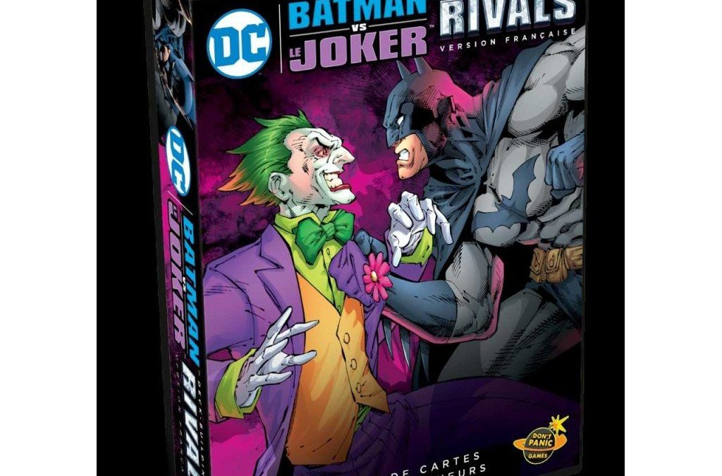 Test: DC Comics Deckbuilding – Rivals Batman vs. Joker