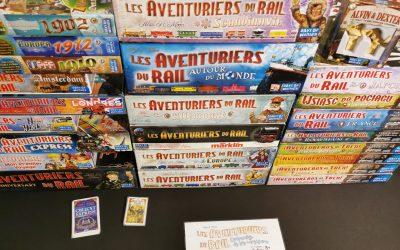Les Dossiers du Labo: La saga Les Aventuriers du Rail