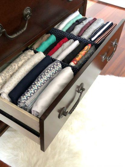 correctly folding laundry advice