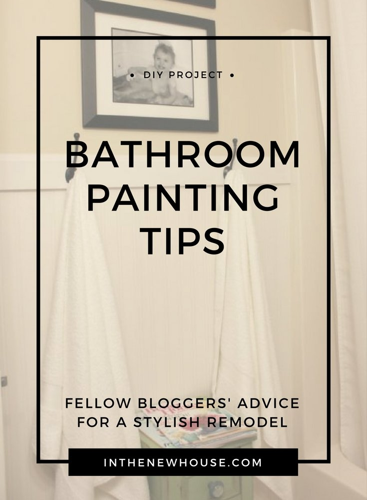 bathroom painting tips and tricks