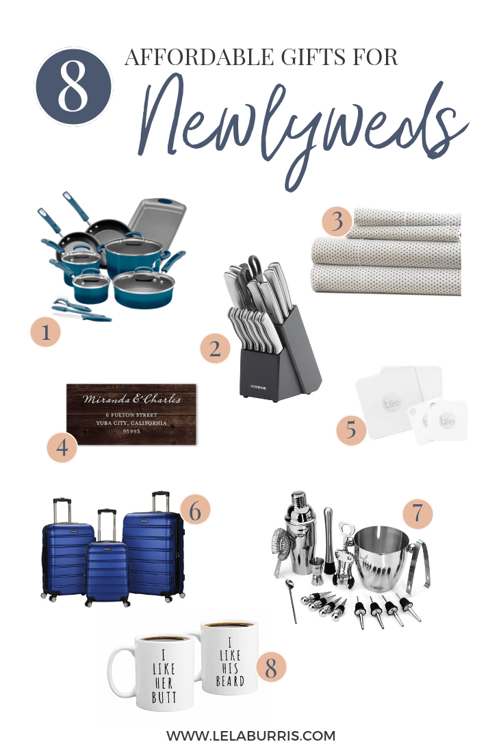 8 Affordable Gifts For Newlyweds