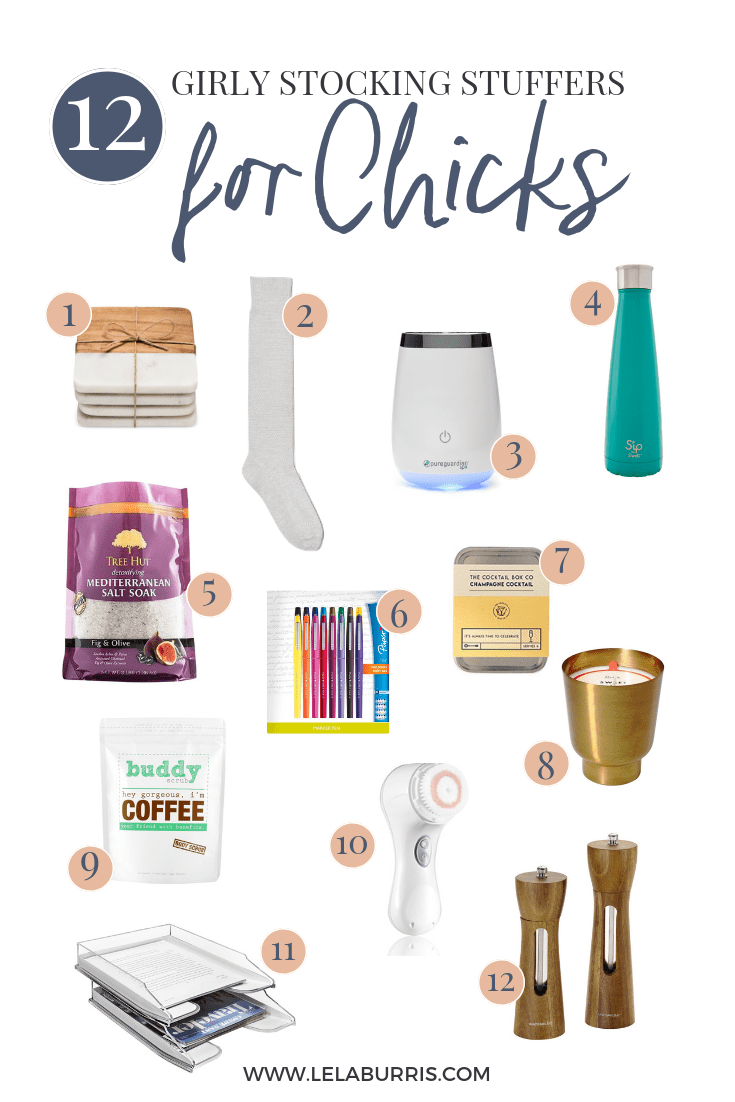 12 Girly Stocking Stuffers For Chicks